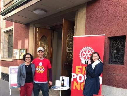 Polio Awareness Event Zürich